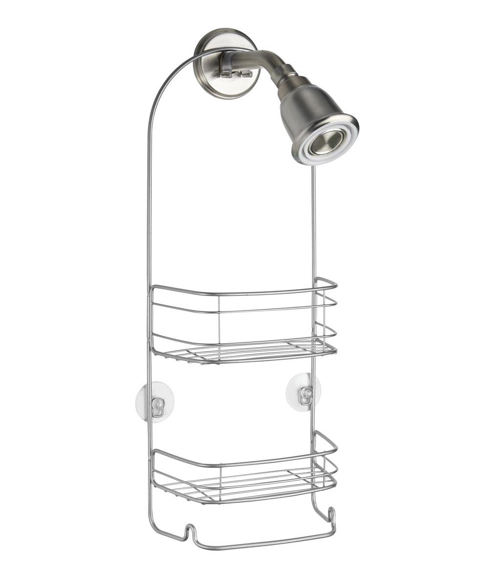 InterDesign Silver Rondo Shower Caddy