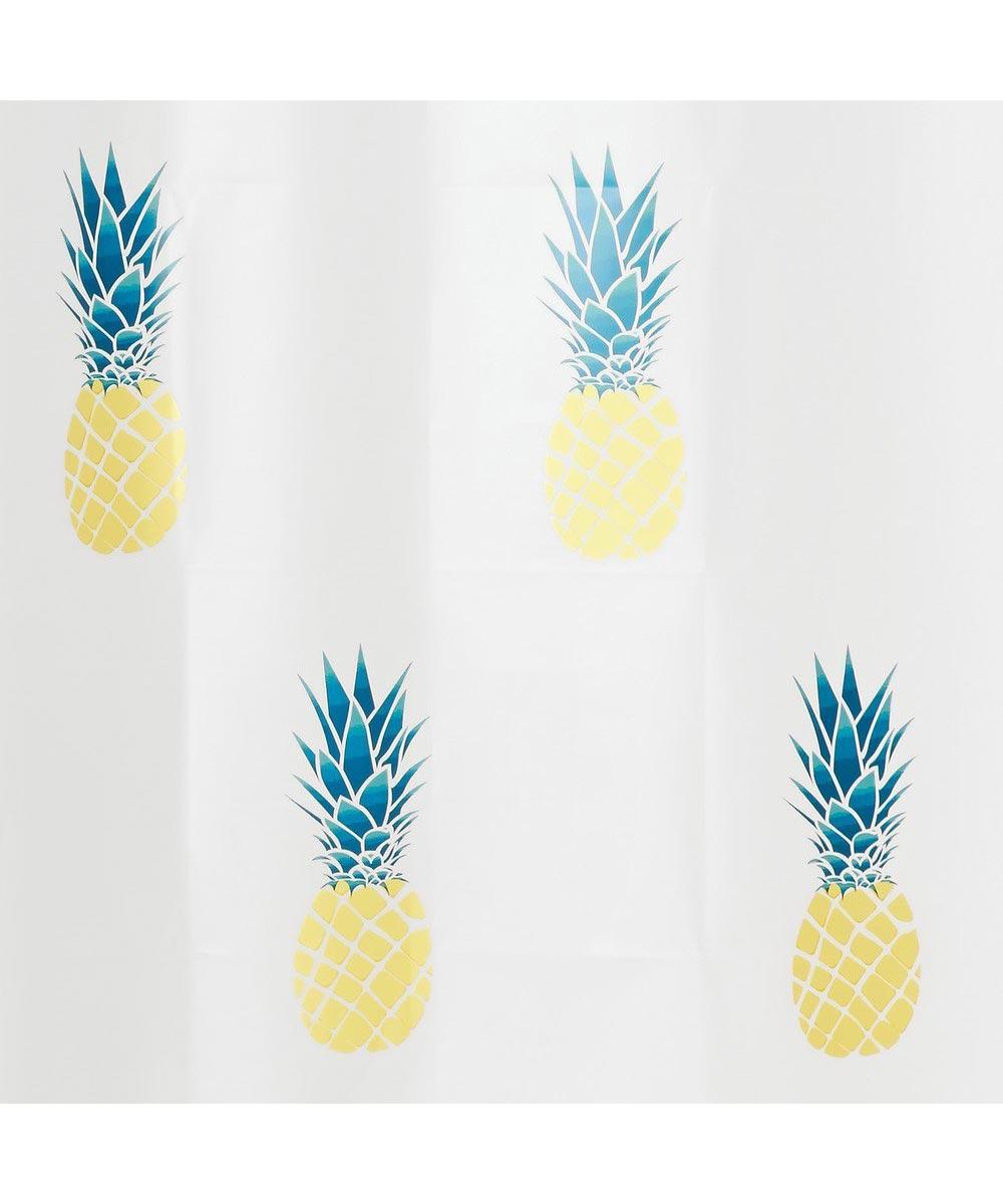 Pineapple PEVA Shower Curtain, 72 in. x 72 in.
