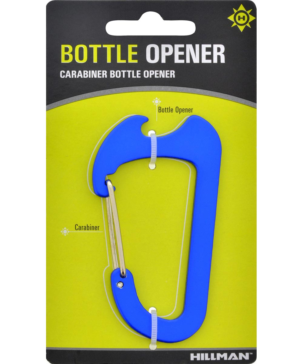 Key Chain Multi-Tool with Carabiner and Bottle Opener