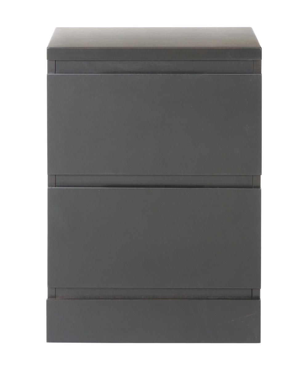 Simplicity Collection 2 Drawer Nightstand Black