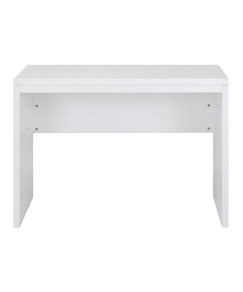 Simplicity 40 in. Wide Solid Mahogany Collection Desk, White