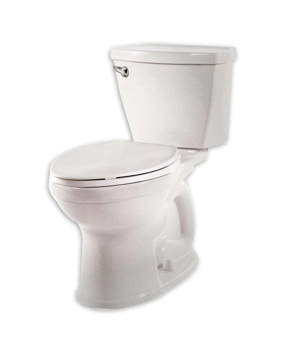 American Standard Champion 4 Right Height Elongated Complete Toilet, 1.28 GPF High Efficiency