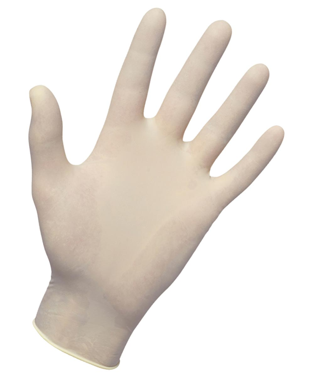 Large Latex Gloves, 3 Pairs
