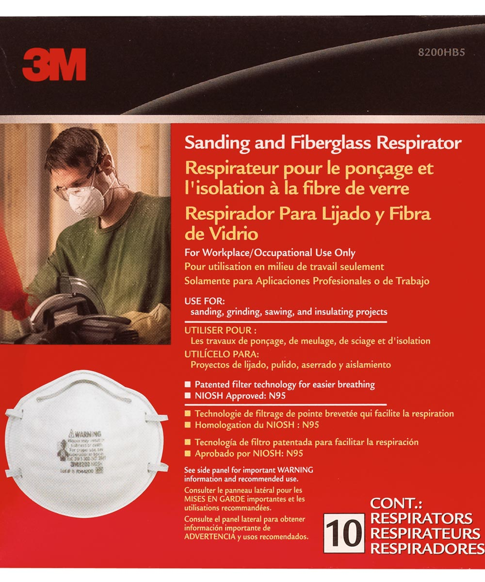 3m fiberglass masks