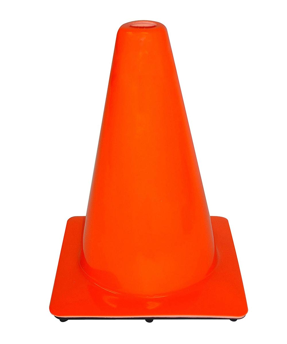 3M 12 in. Orange Professional Quality Safety Cone