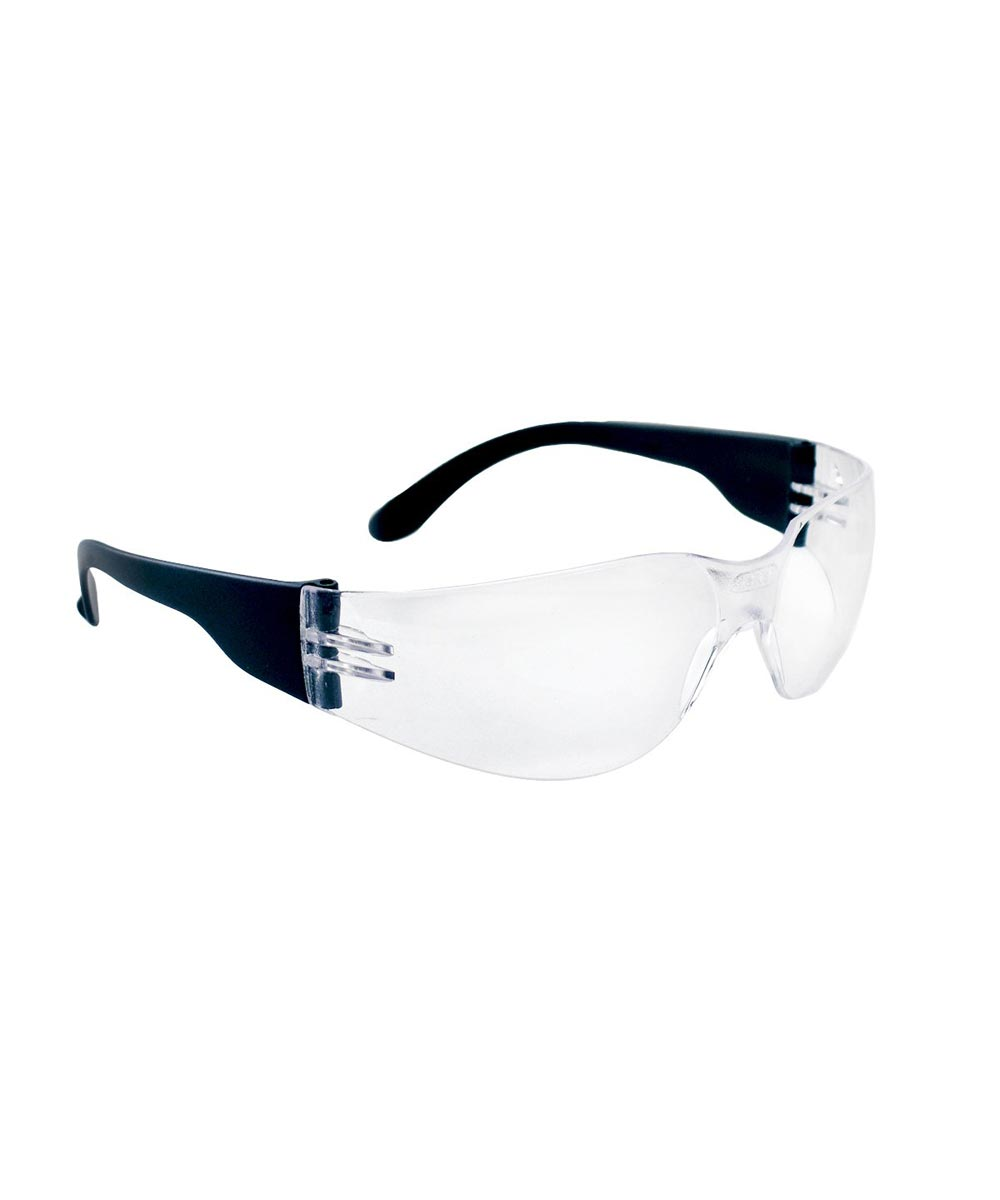 NSX Scratch-Resistant Anti-Fog Safety Glasses, Clear Lens