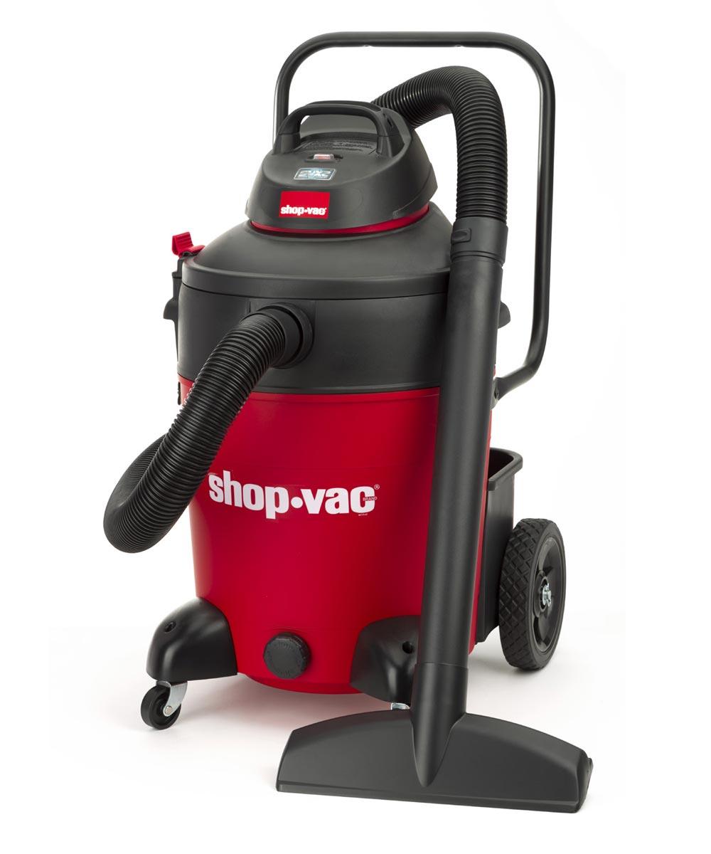 Shop-Vac 14 Gallon 6.5 Peak HP Wet Dry Vacuum with Contractor Cart & Transport Handle