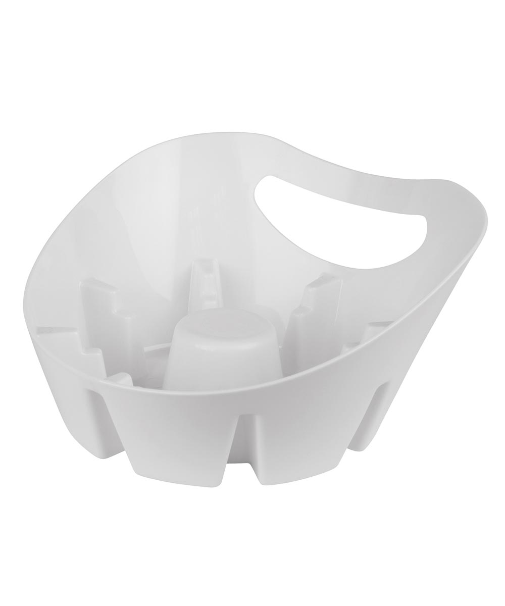 Plumb Craft Waxman White MAXClean Universal Plunger Holder Drip Tray