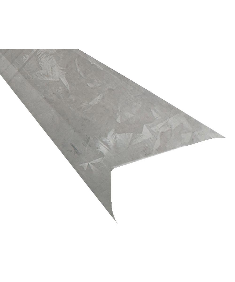 Amerimax 2 in. x 2 in. x 10 ft. Galvanized Steel Drip Edge
