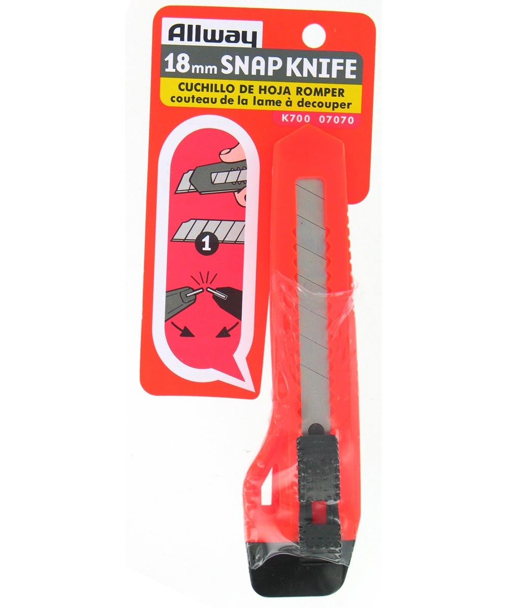 Pink Neon 18Mm Snap Off Knife