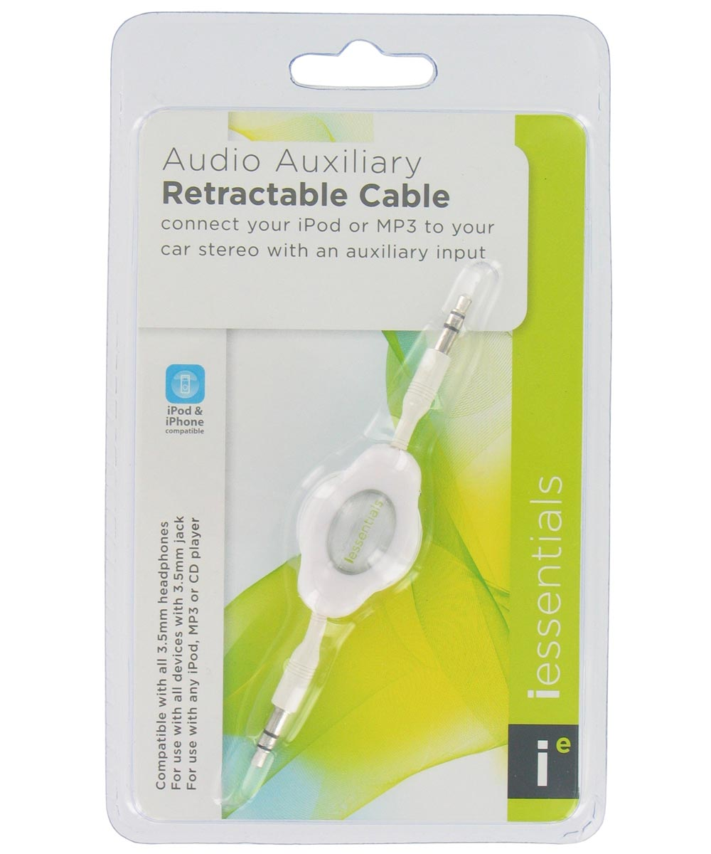 Audio Auxiliary Retractable Cable