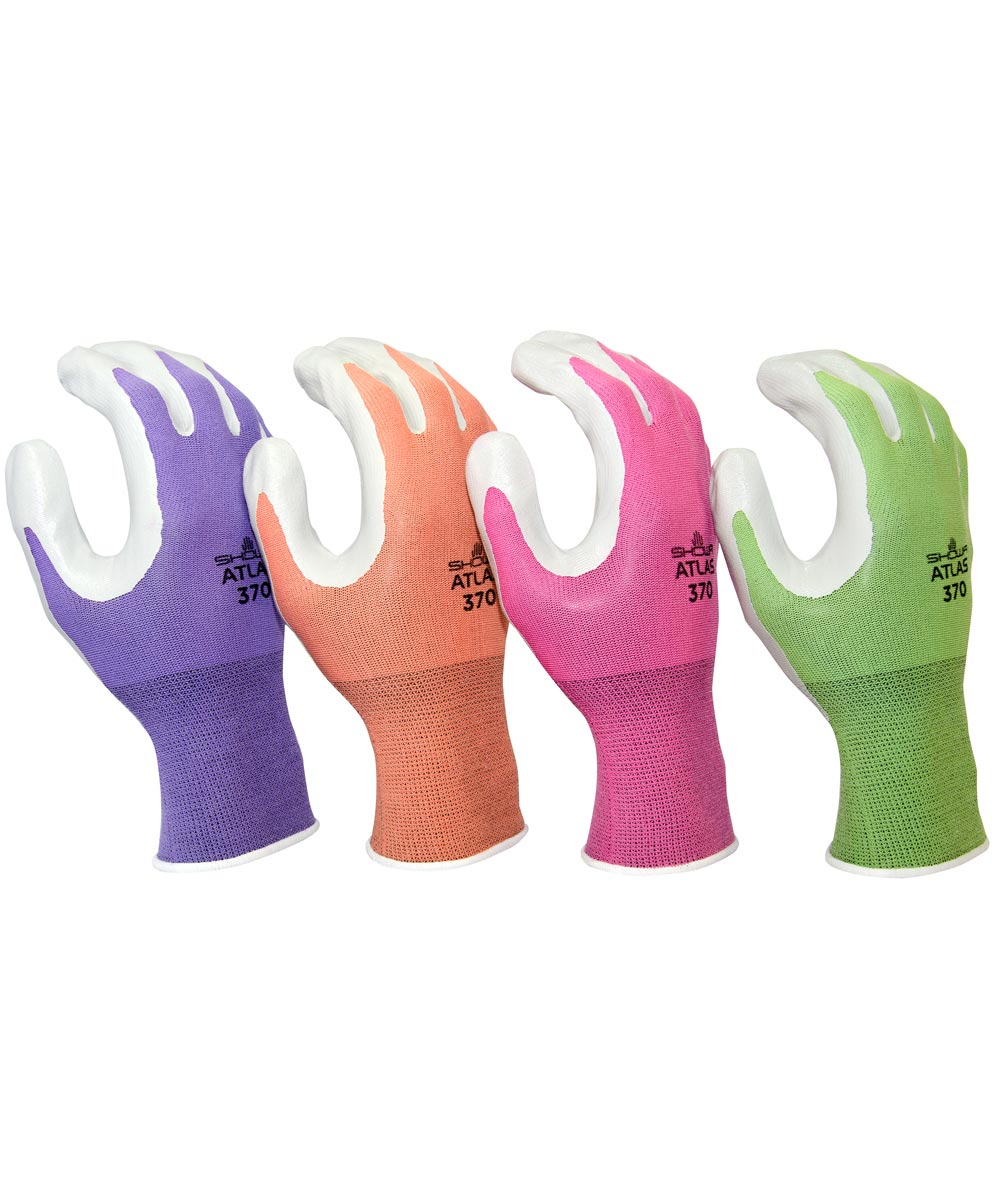 13-Gauge Women's Medium Nitrile Palm Coating Seamless Knit