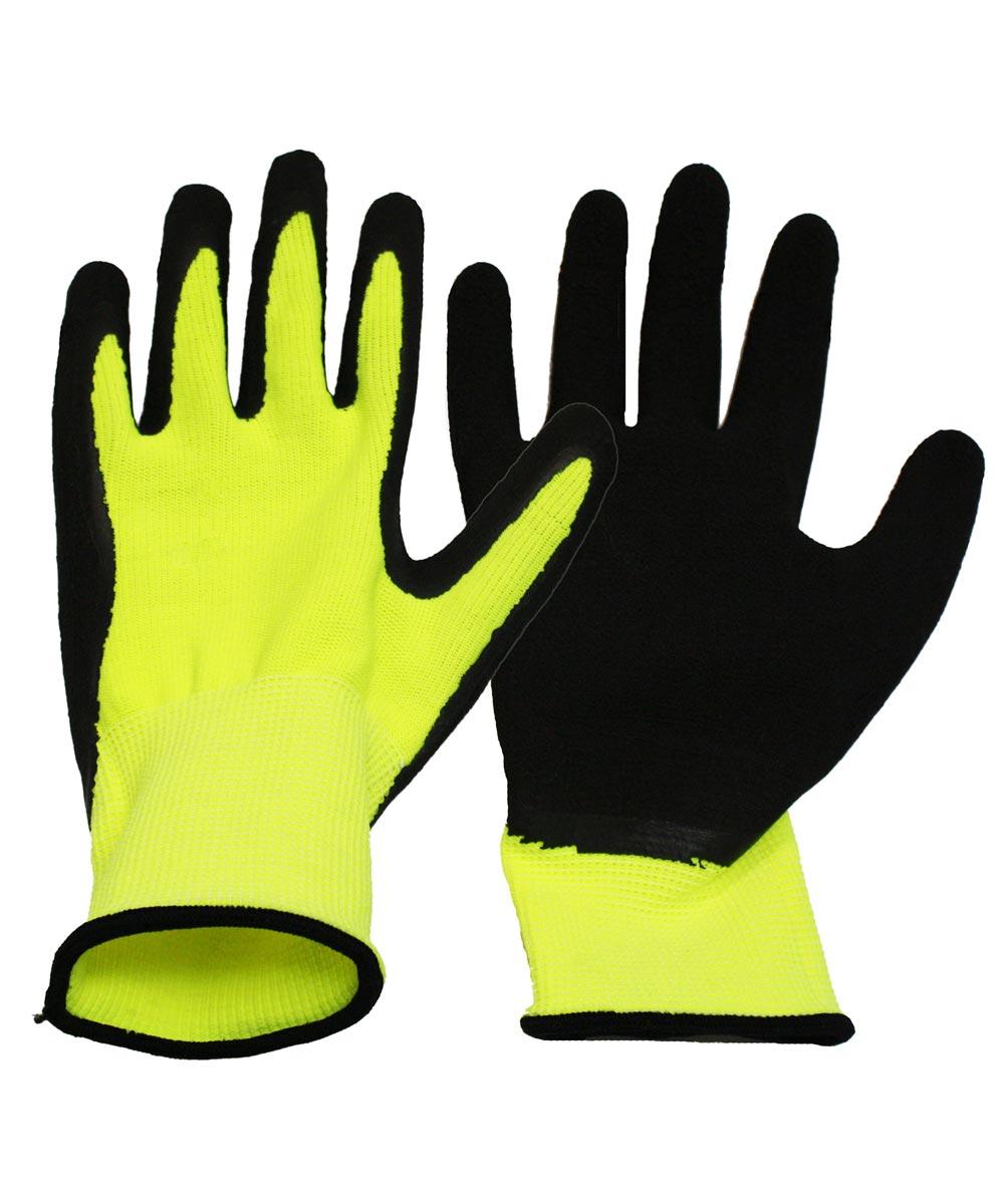 Large Neon Work Gloves