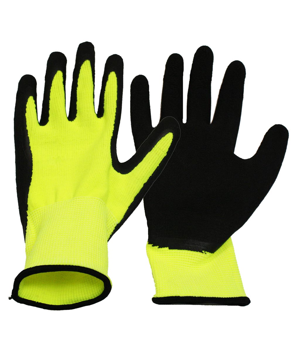 Extra Large Neon Work Gloves