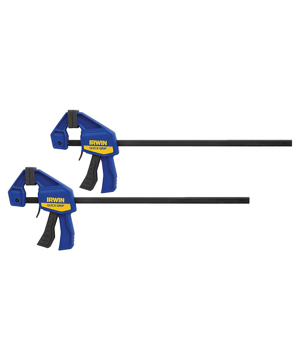 Irwin 12 in. One Handed Mini Bar Clamps, 2 Pack