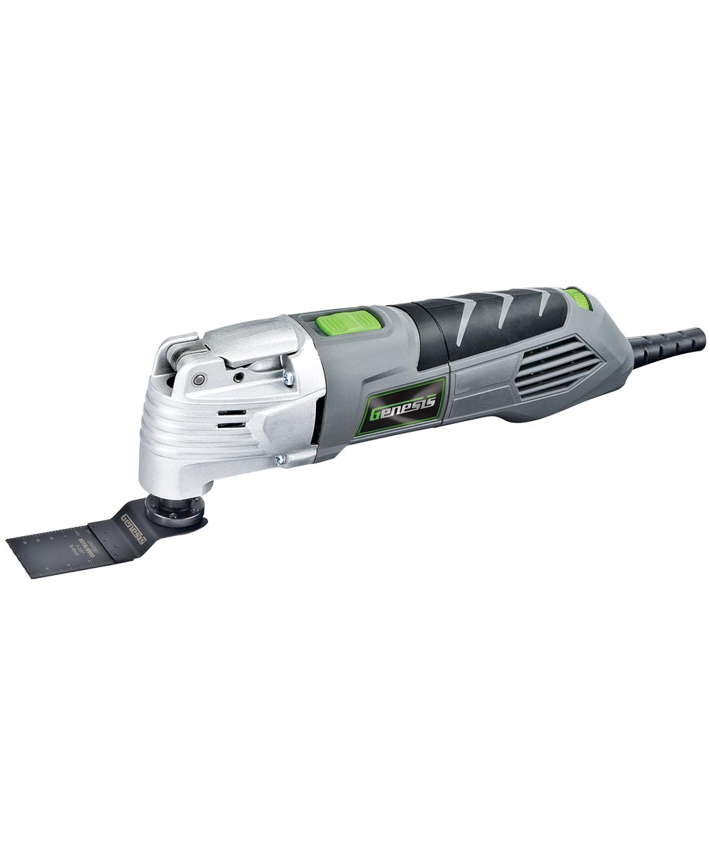 Genesis 2.5 amp Variable Speed Oscillating Multi Tool with 17 Accessories