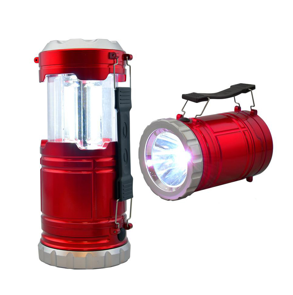 COB Pop-Up LED Convertible Lantern Flashlight, Assorted Colors