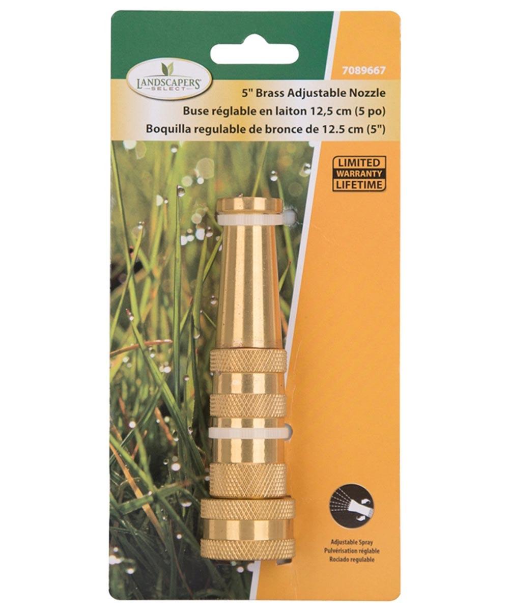 Nozzle Hd Adjustableustable Brass 5i n.