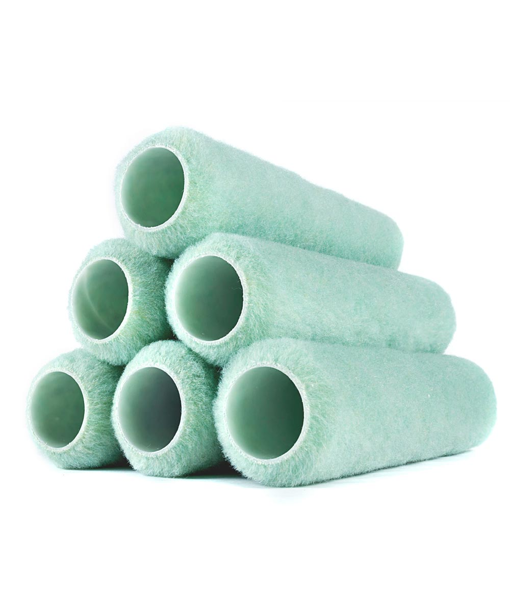 RollerLite 9 in. x 3/8 in. All Purpose Standard Paint Roller Covers, 6 Pack