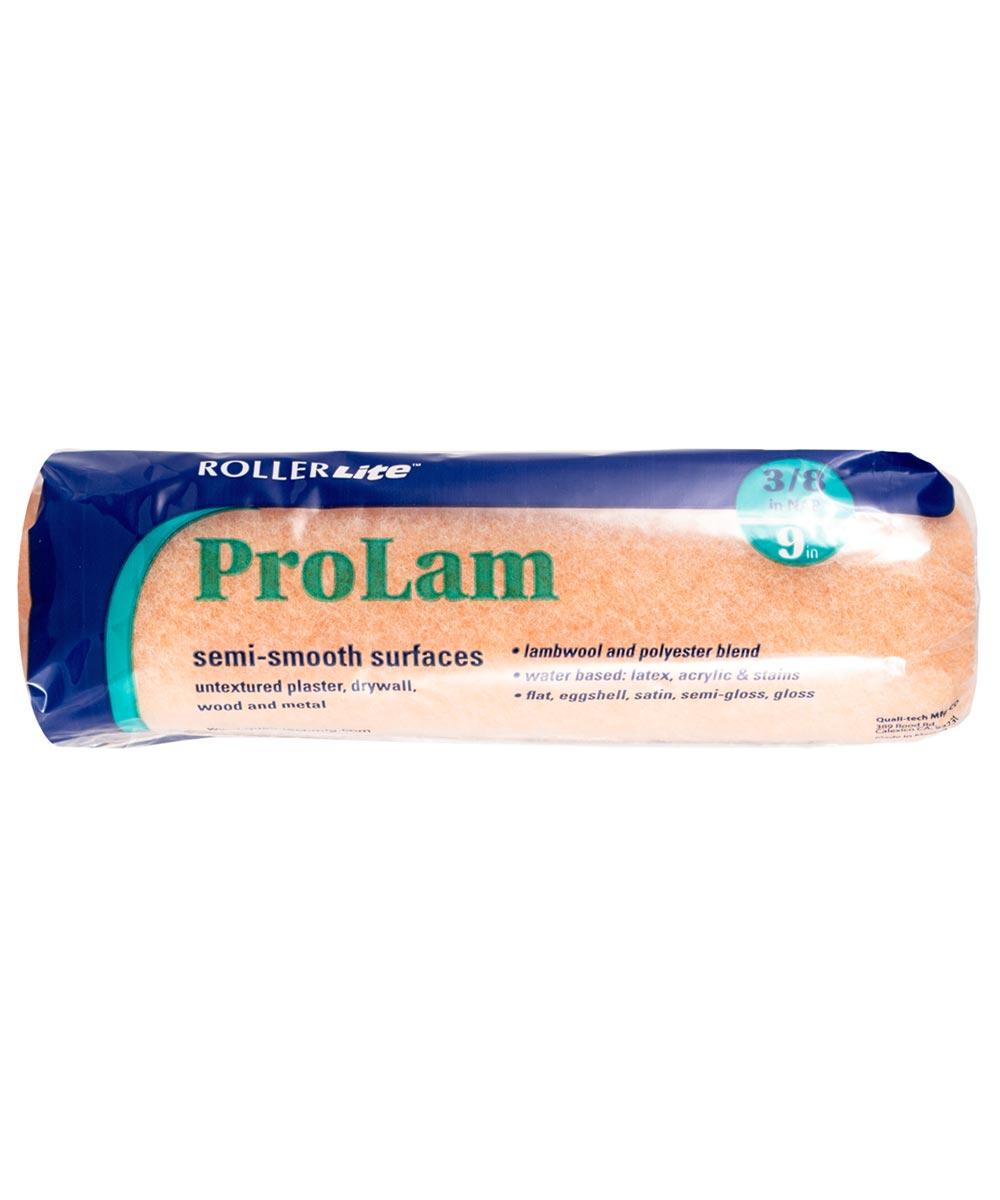 RollerLite 9 in. x 3/8 in. ProLam Lambswool Standard Paint Roller Cover