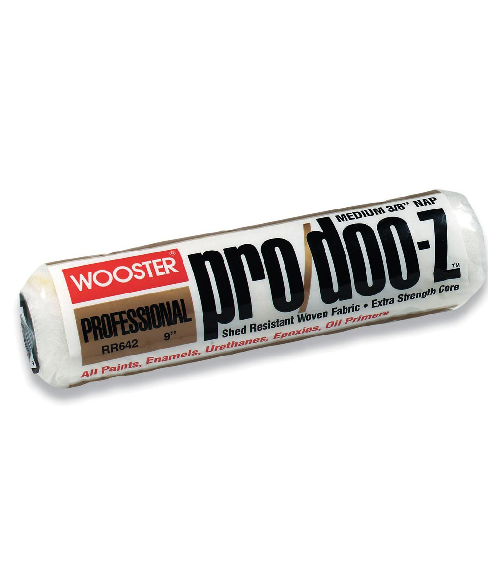 Wooster 9 in. x 3/8 in. Pro/Doo-Z Paint Roller Cover