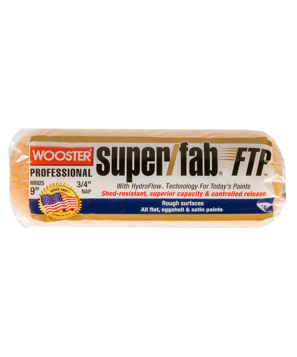 Wooster 9 in. x 3/4 in. Super/Fab FTP Paint Roller Cover