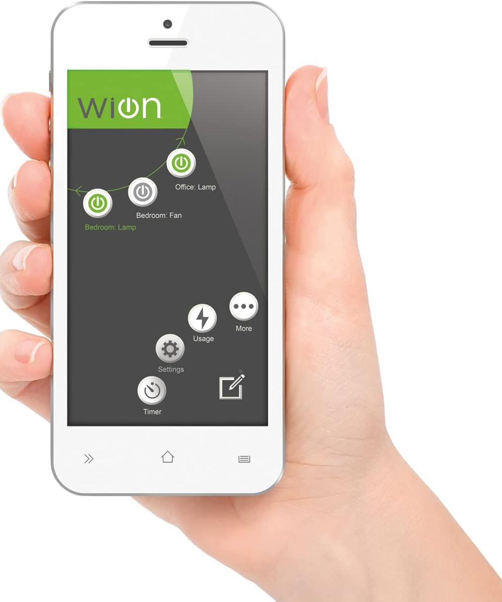 Wion Outdoor Wifi Smart Plug, Dual Grounded Outlets