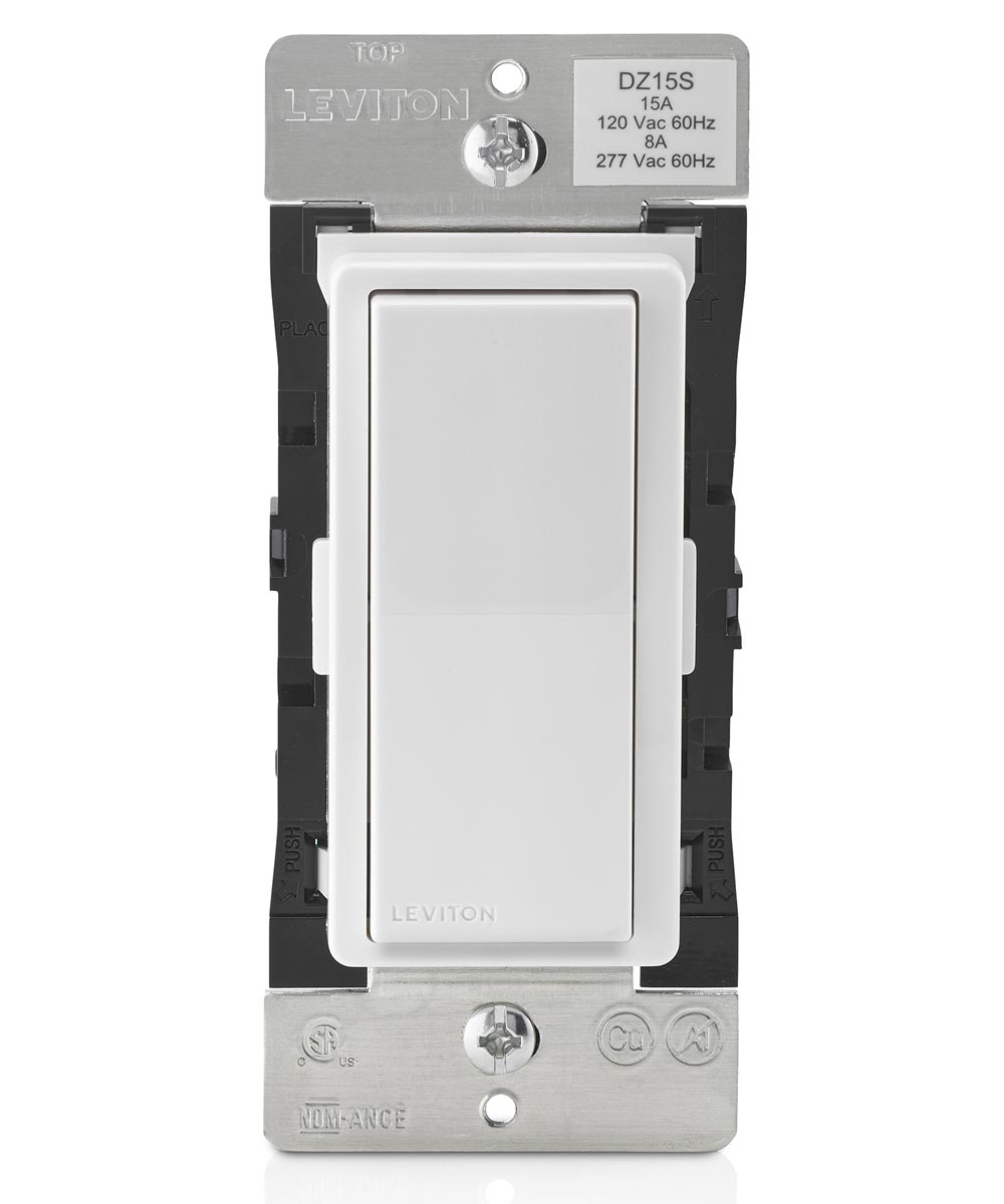 15A 120V White/Almond Decora Smart ZWav Switch