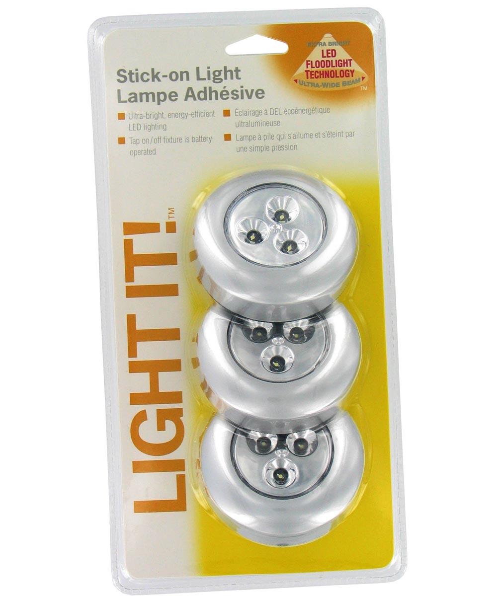 3 Pack LED Tap Lights