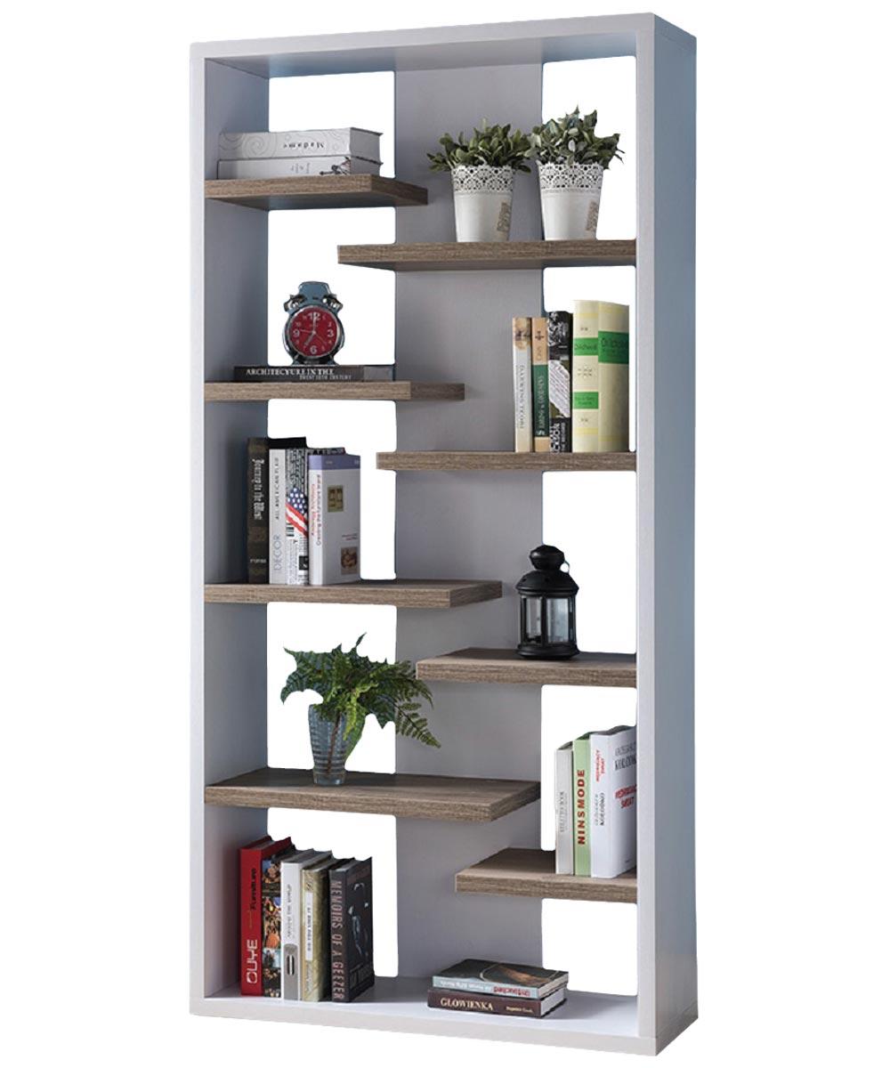 Display Bookcase, White