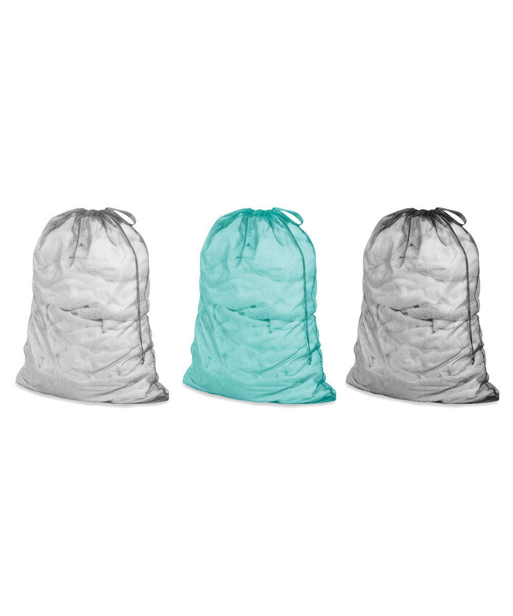 MESH LAUNDRY BAG ASSORTED COLORS