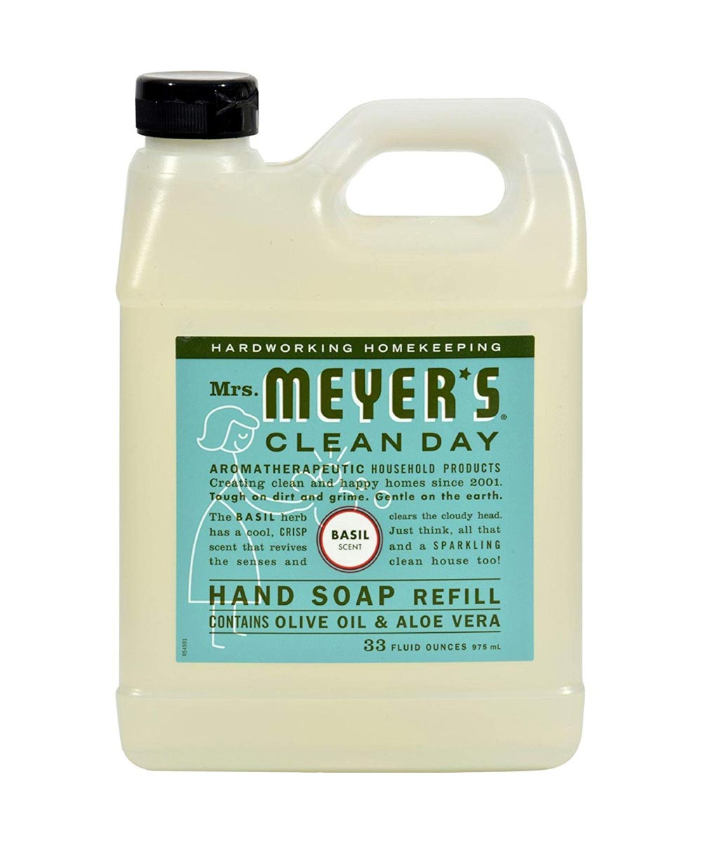 City Mill Mrs Meyer S Clean Day Hand Soap Refill Basil