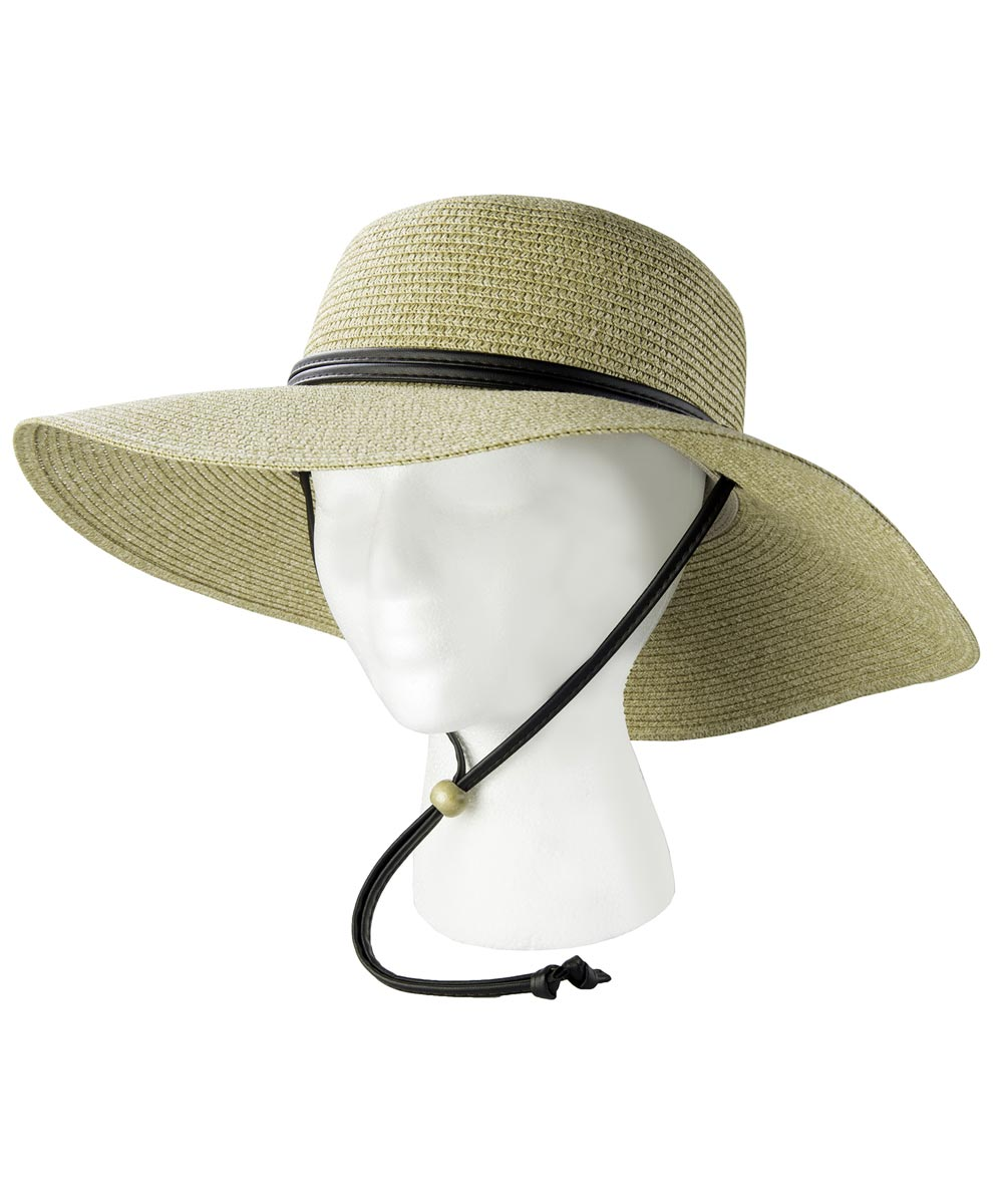 Natural Braided Sun Hat