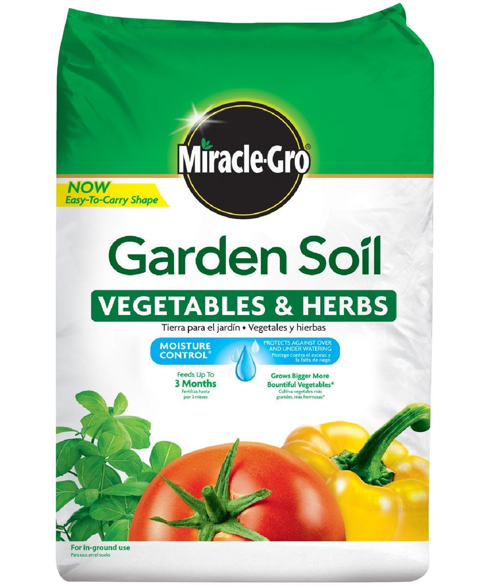 Miracle-Gro 1 Cu Ft Garden Soil for Vegetable& Herbs