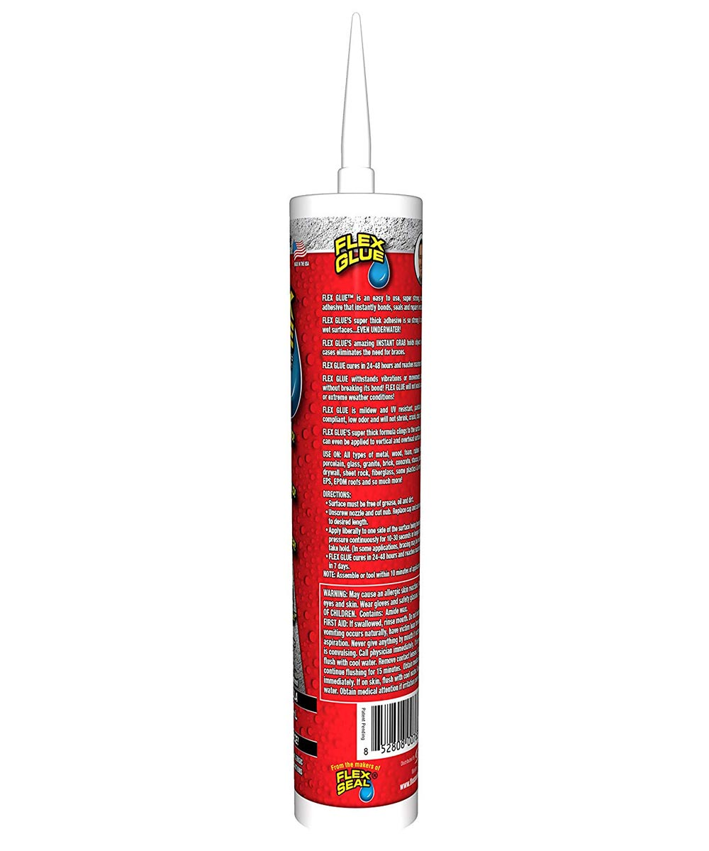 10 oz. Waterproof Flex Glue Strong Rubberized Adhesive