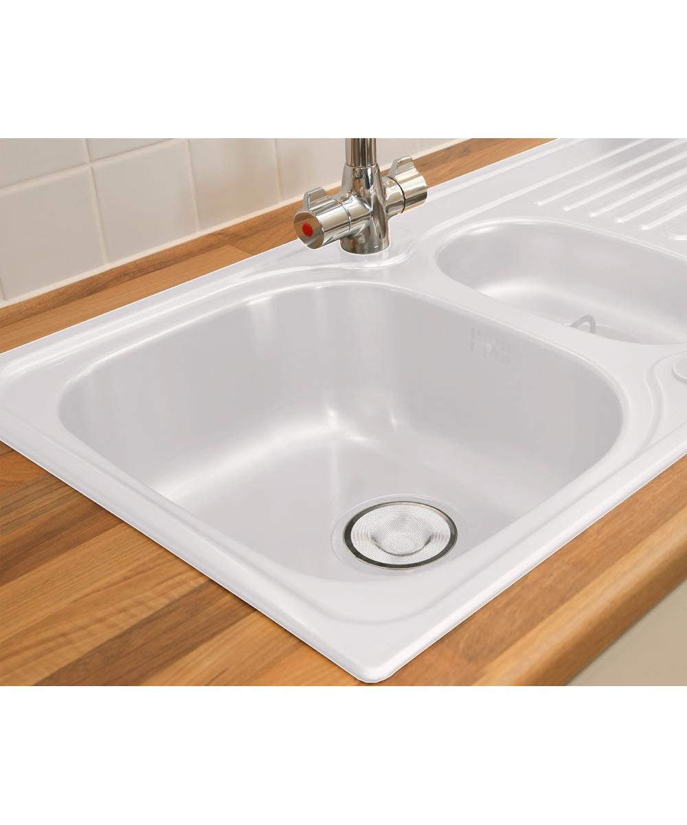 Evriholder Sophisti-Clean Stainless Steel Mesh Sink Strainer