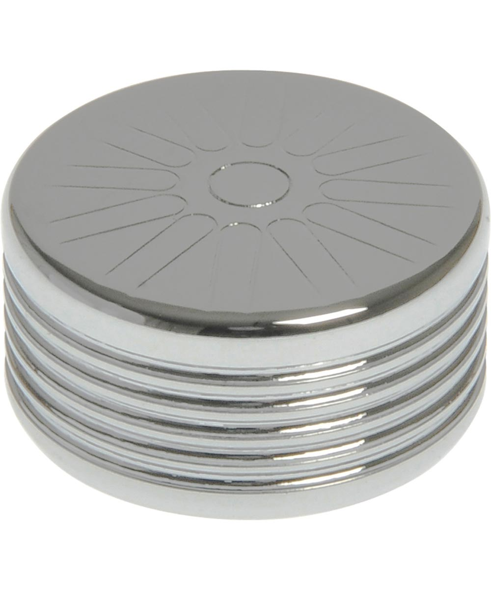 Chrome Spoke Bolt Cap for Hex Head Fasteners (3/8 in.), 1 Pieces
