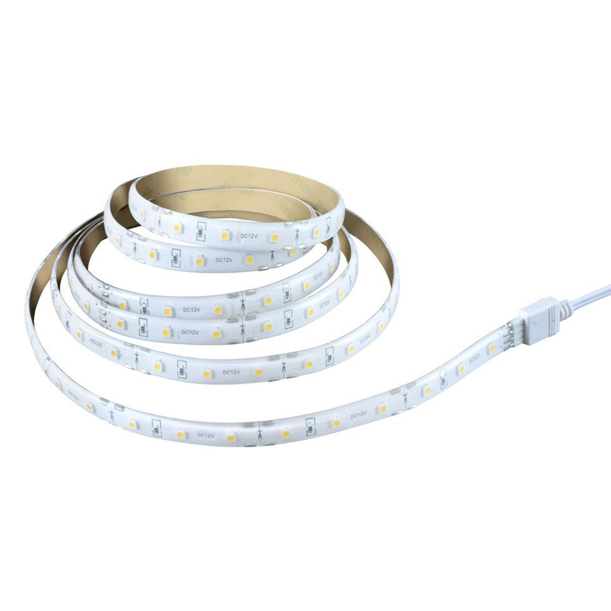 6 ft. Warm White Flexible & Cuttable Plug-in LED Strip Tape Light