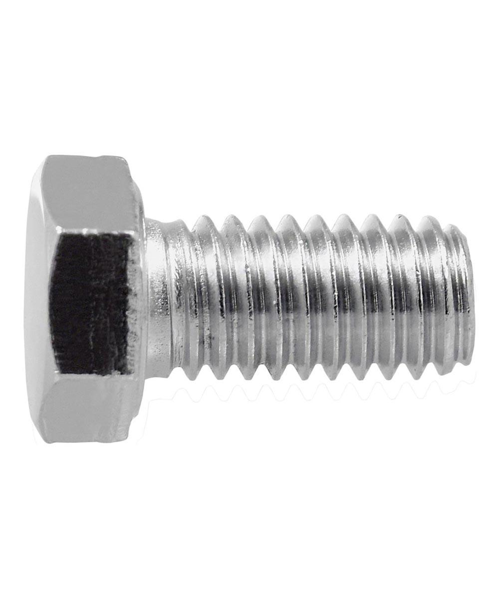 Chrome Hex Cap Screw (3/8-16 x 1-1/2 in.), 2 Pieces