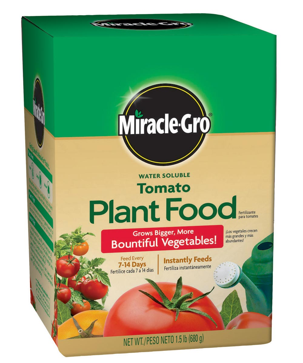 Miracle-Gro 1.5 lb. Water Soluble Tomato Plant Food