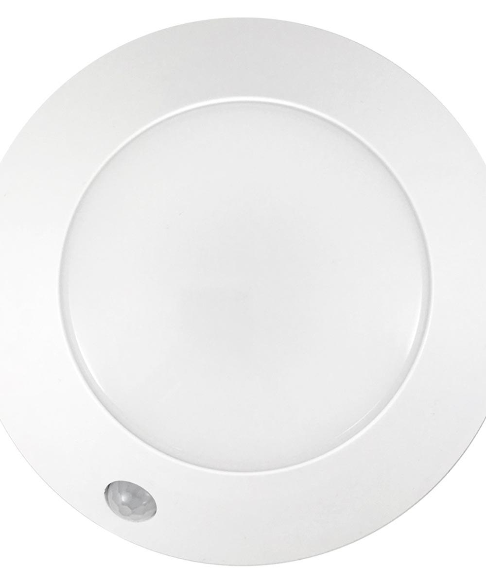 White Led Motion Activated Ceiling Light