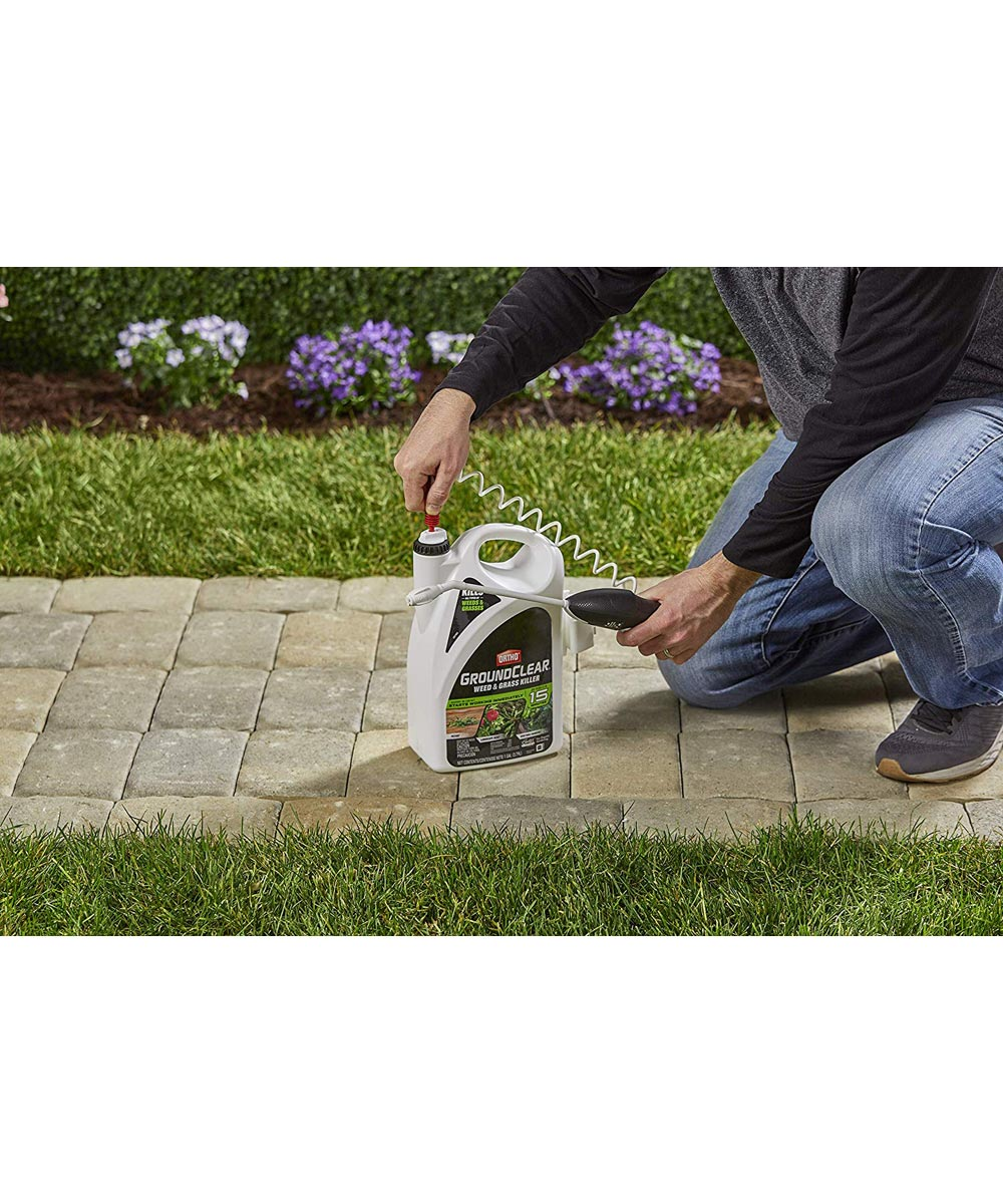 Ortho 1 Gallon GroundClear Weed & Grass Killer Ready-To-Use