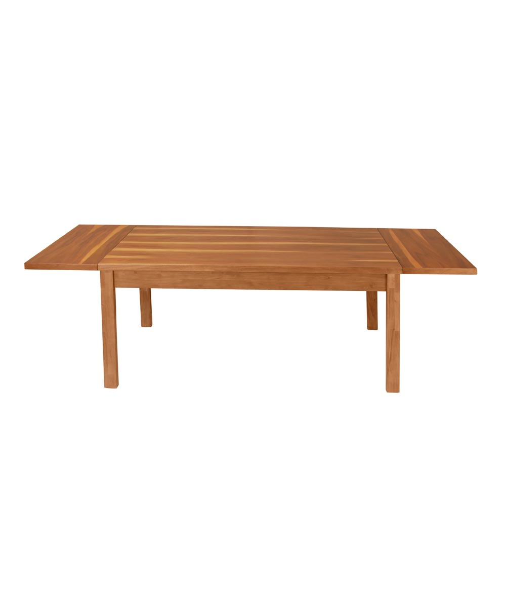 Alii Extendable Dining Table, Koa Finish
