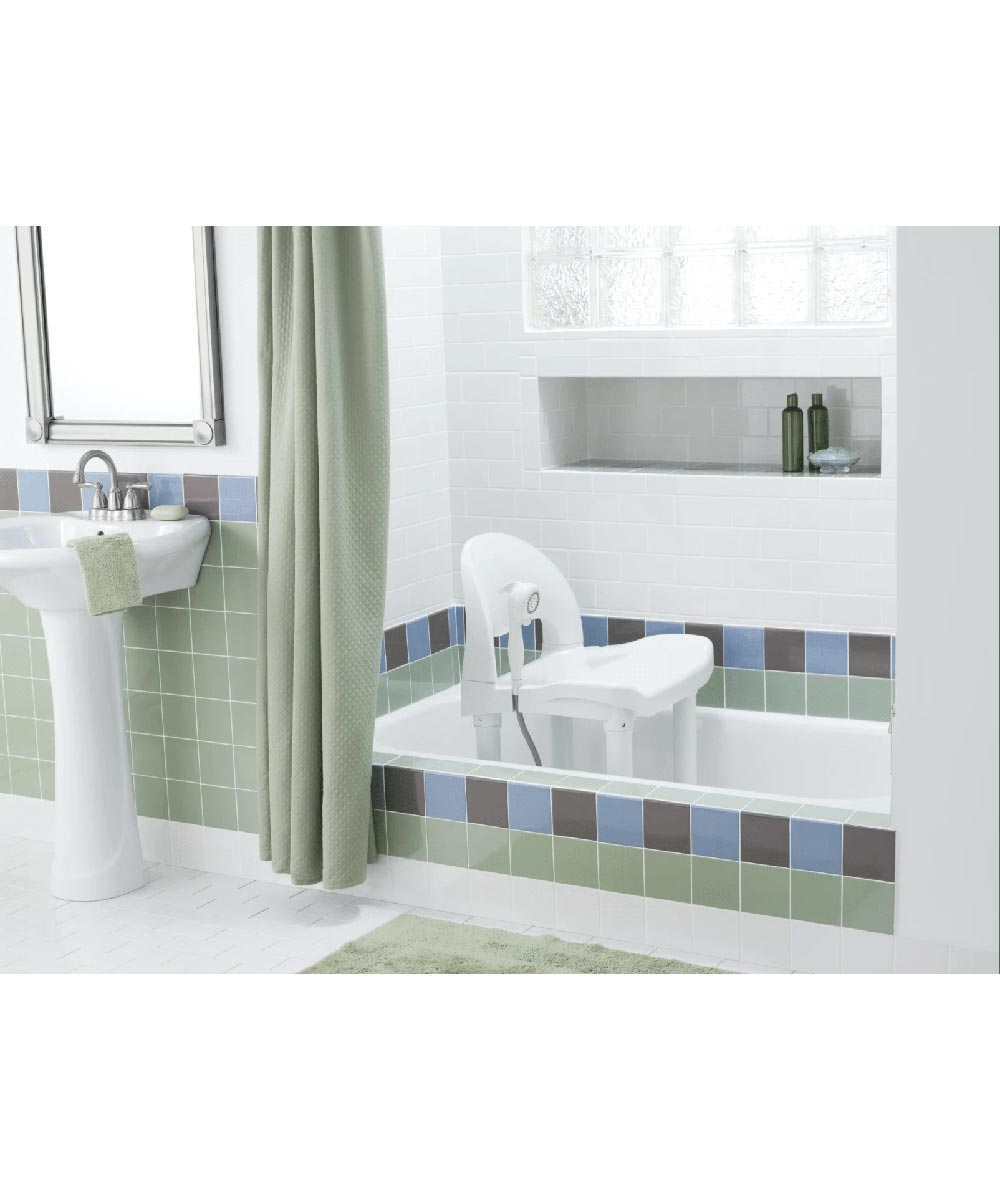 Moen Adjustable Safety Shower Seat with Seat Back