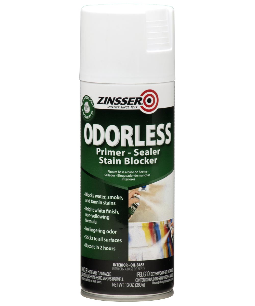 13 oz. Spray Zinsser Odorless Oil-Base Stain Blocker