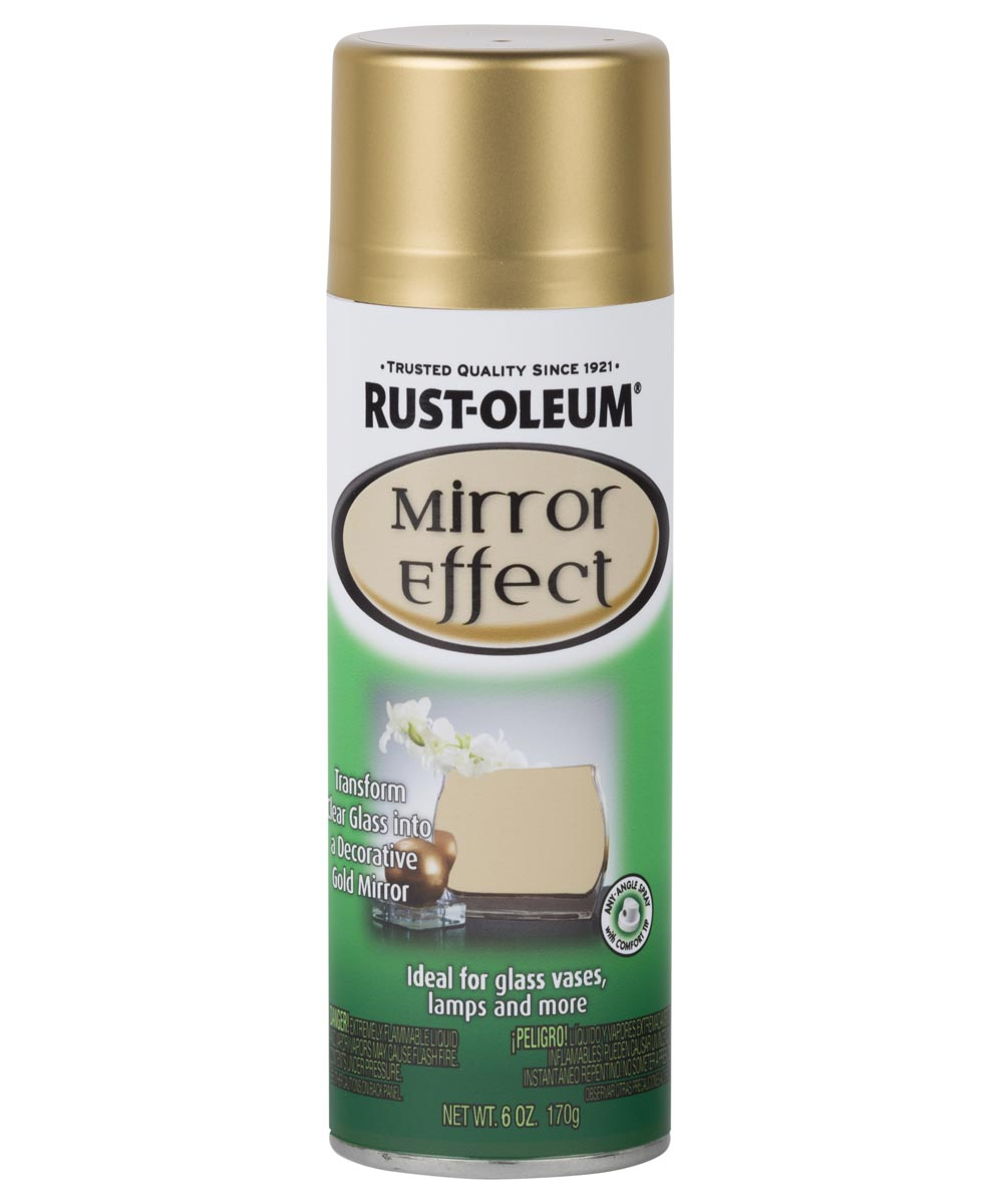 Specialty Mirror Effect Spray Paint, 6 oz., Gold