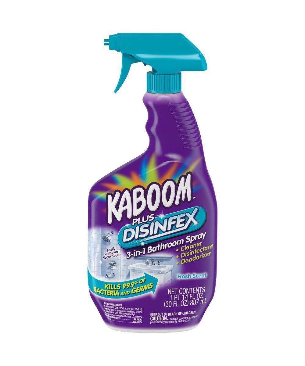 Kaboom Disinfex 3-in-1 Bathroom Spray, 30 oz.