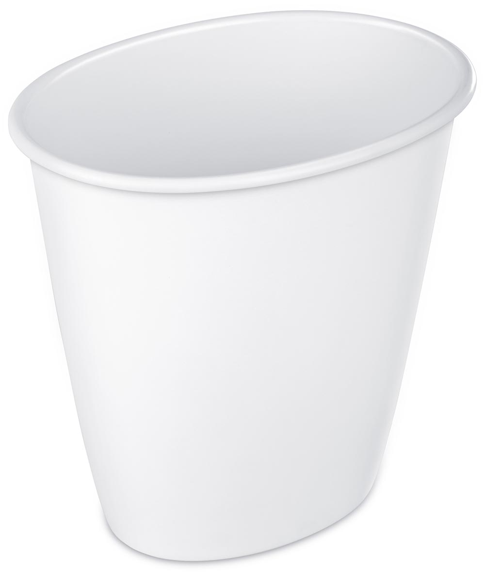 Sterilite 10.3 in. L x 7.5 in. W x 9.75 in. 1.5 Gallon Waste Basket Assorted