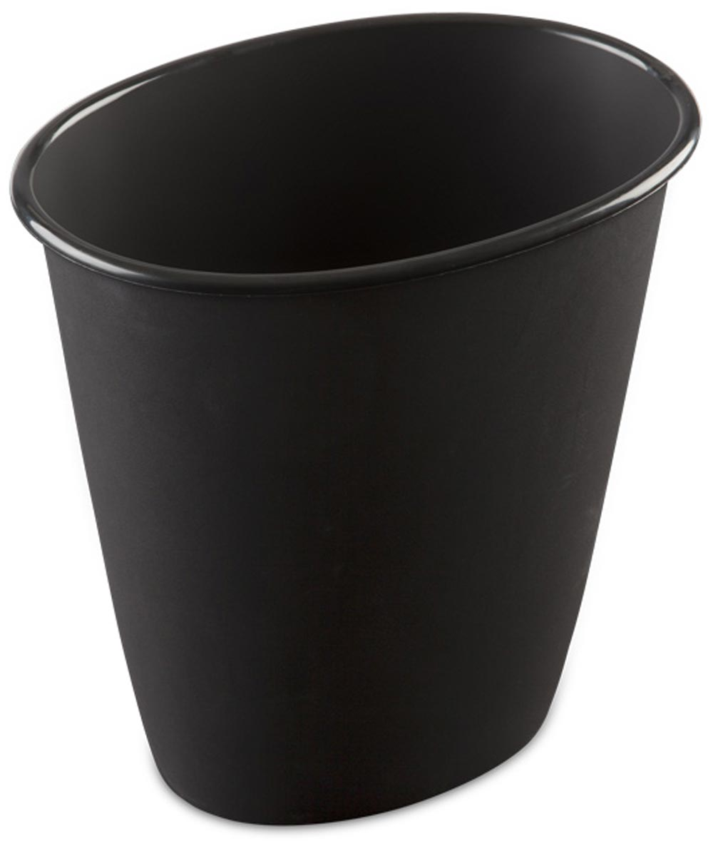 Sterilite 1.5 Gallon Oval Vanity Wastebasket
