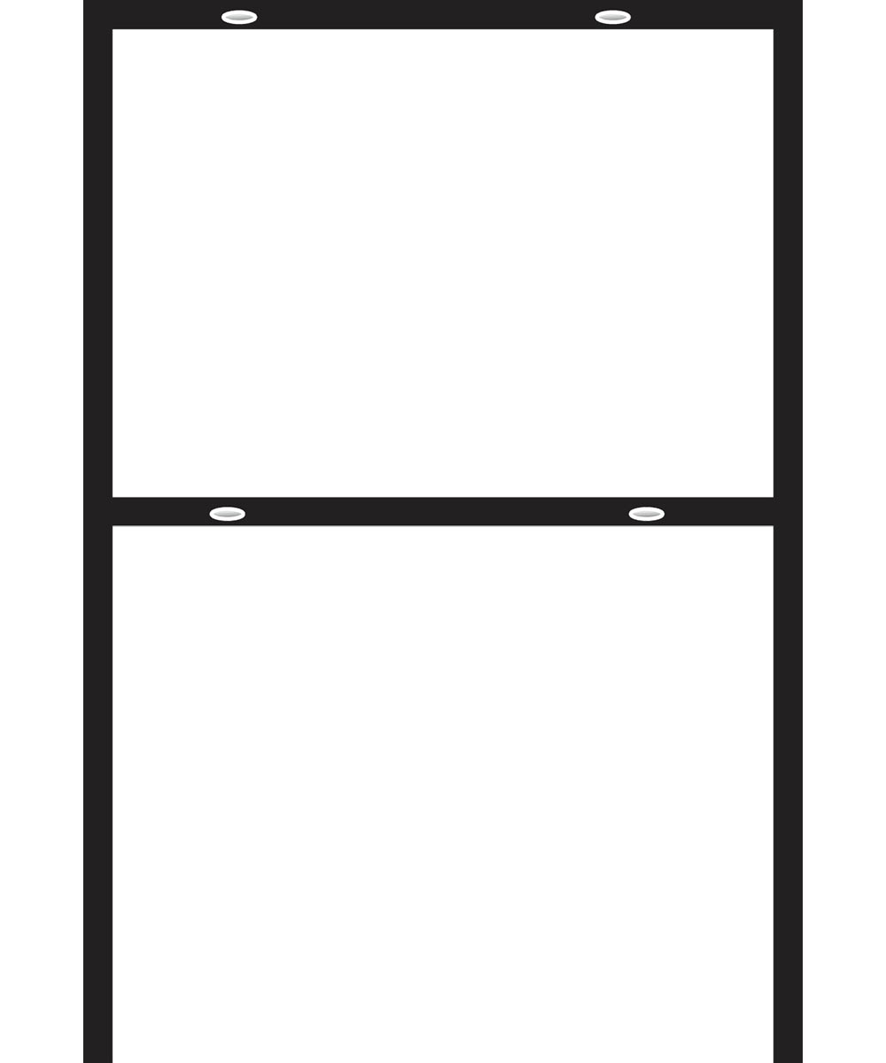18 in. X 24 in. Angle Iron Frame
